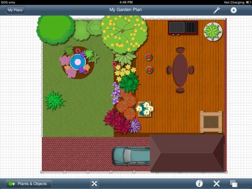 Screenshot af Garden Planner für Mac