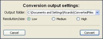 Screenshot af Multi PDF Converter