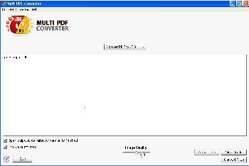 Screenshot af Multi PDF Converter für Mac