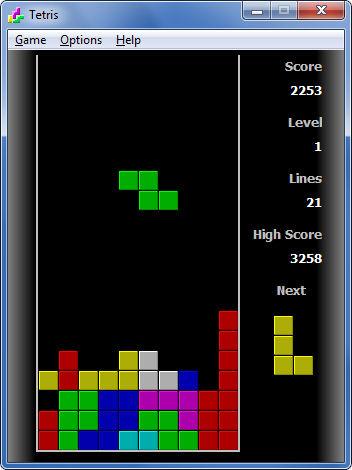 Screenshot af Tetris für Mac