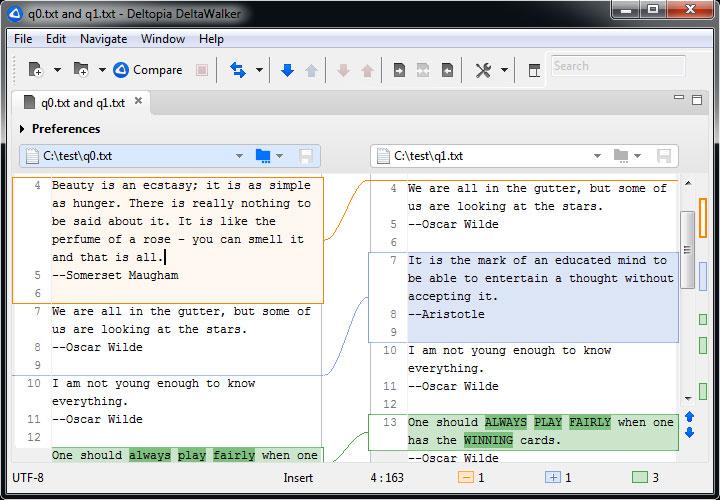 Screenshot af DeltaWalker für Mac
