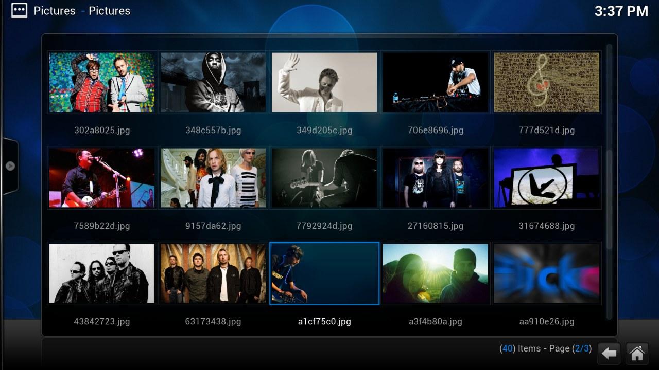 Screenshot af Kodi für Mac