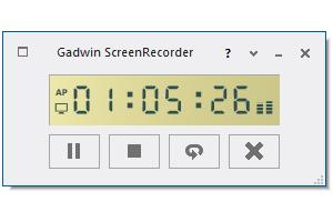 Screenshot af Gadwin Screenrecorder