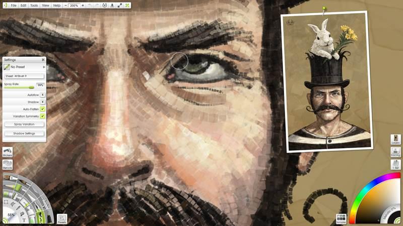 Screenshot af ArtRage für Mac