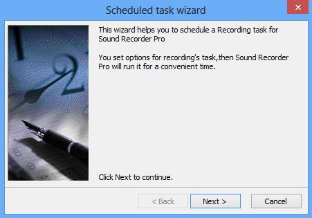 Screenshot af Sound Recorder Professional