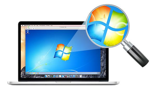 Screenshot af VMware Fusion für Mac