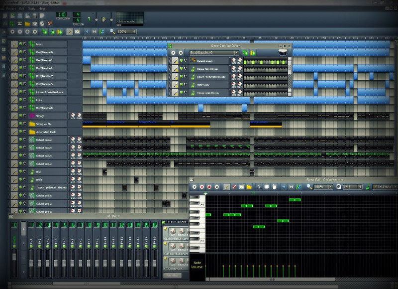 Screenshot af Let's Make Music Studio für Mac