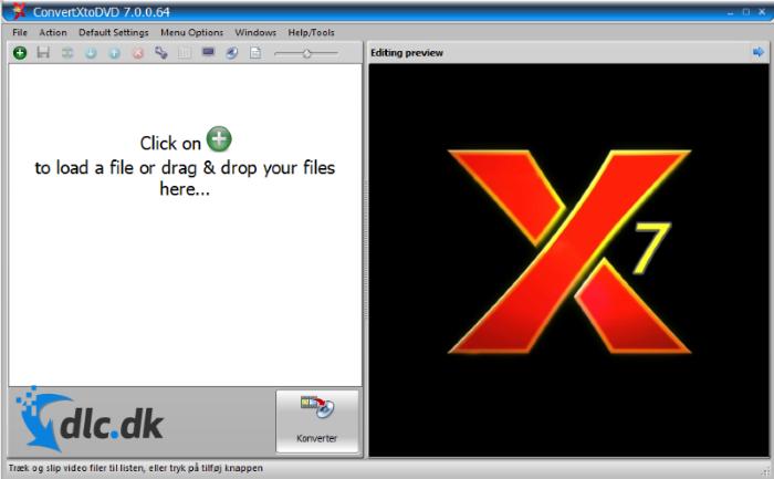 Screenshot af ConvertXtoDVD
