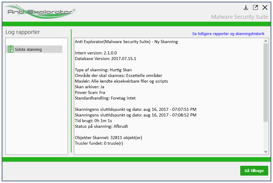 Screenshot af Anti Explorator