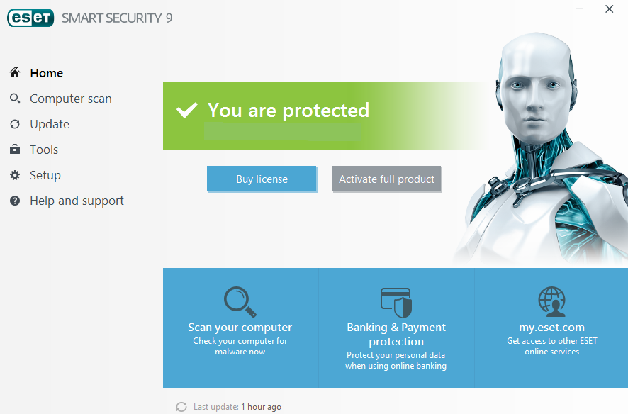 Screenshot von ESET Smart Security