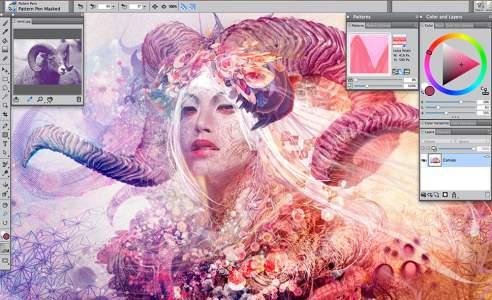Screenshot af Painter für Mac