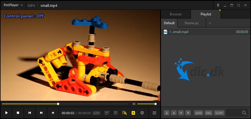 Screenshot af Daum PotPlayer
