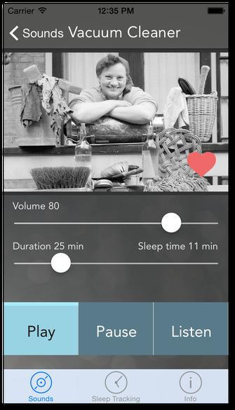 Screenshot von Sound Sleeper