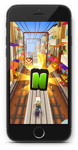 Screenshot von Subway Surfers