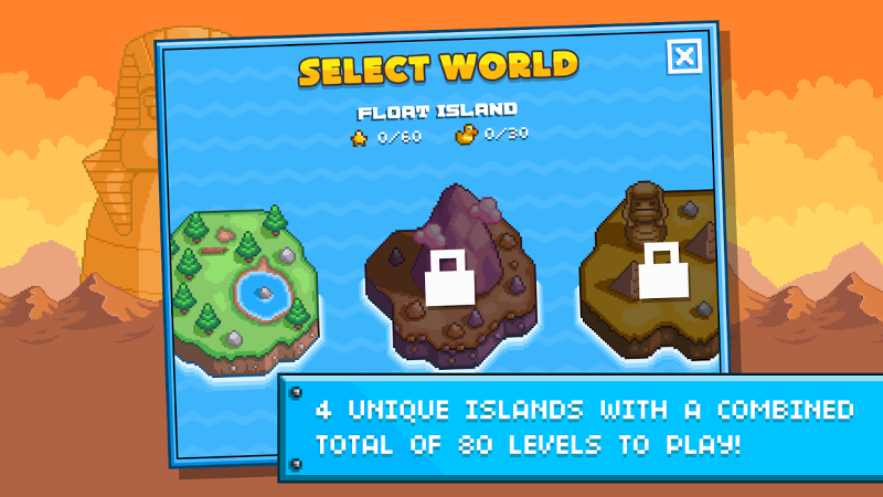 Screenshot von Gravity Duck Islands