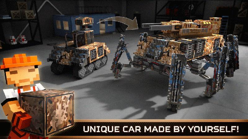 Screenshot von Blocky Cars