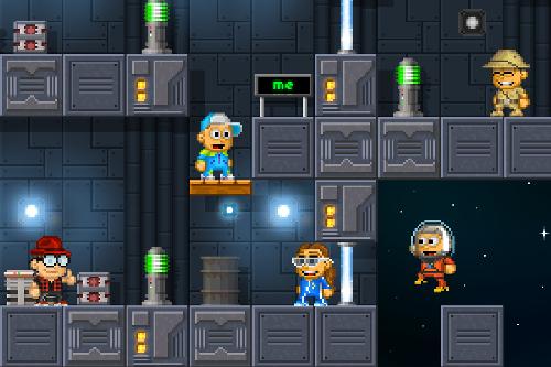 Screenshot von PixelWorld