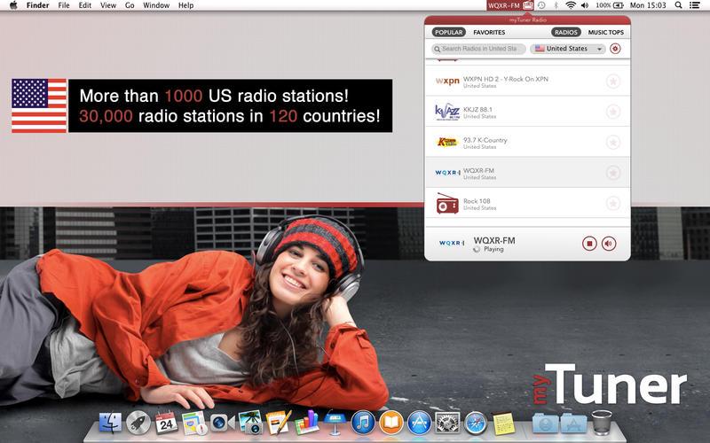 Screenshot af MyTuner Radio