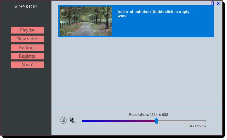 Screenshot af VDesktop