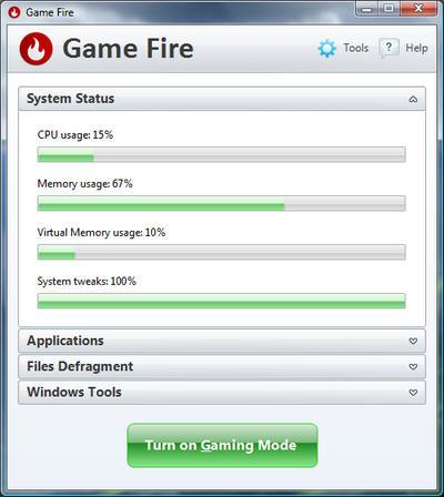 Screenshot af Game Fire