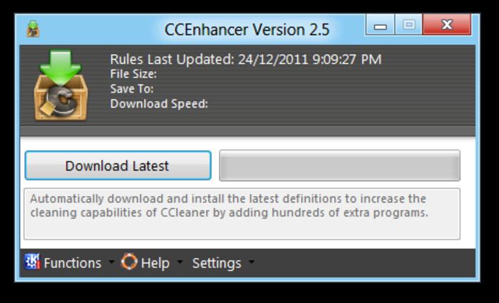 Screenshot af CCEnhancer