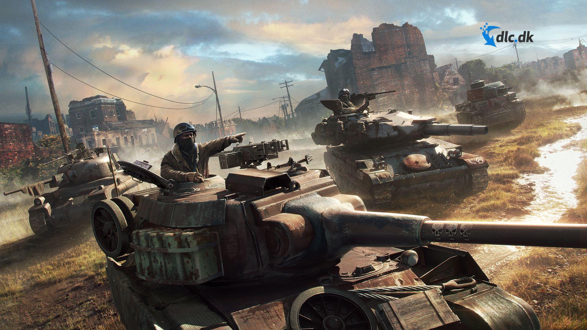 Screenshot af World of Tanks