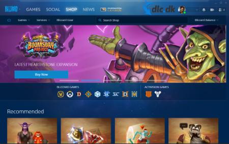 Screenshot af Battle.net