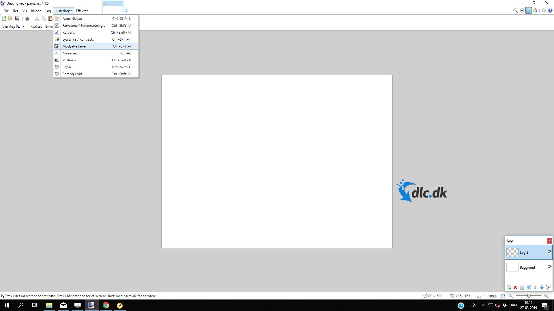 Screenshot af Paint.NET