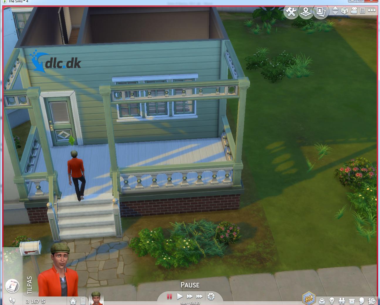 Screenshot af Die Sims 4