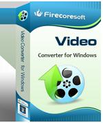 FirecoreSoft Mac Video Converter - Boxshot