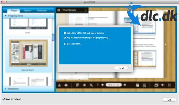 Screenshot af iMade Flipbook (Mac)