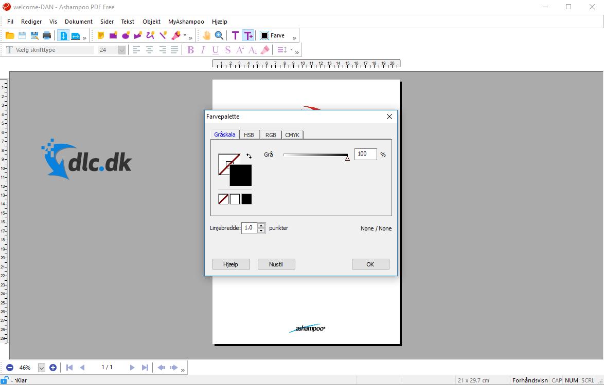 Screenshot af Ashampoo PDF Kostenlos