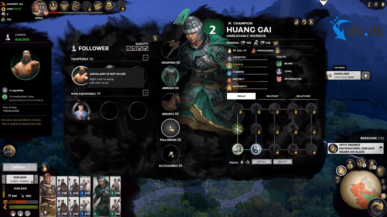 Screenshot af Total War: Drei Königreiche
