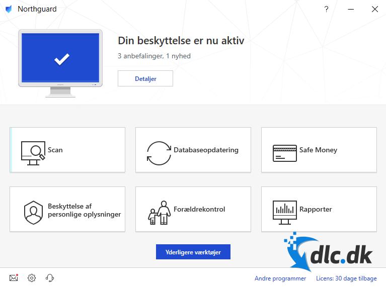 Screenshot af Das Sicherheitspaket