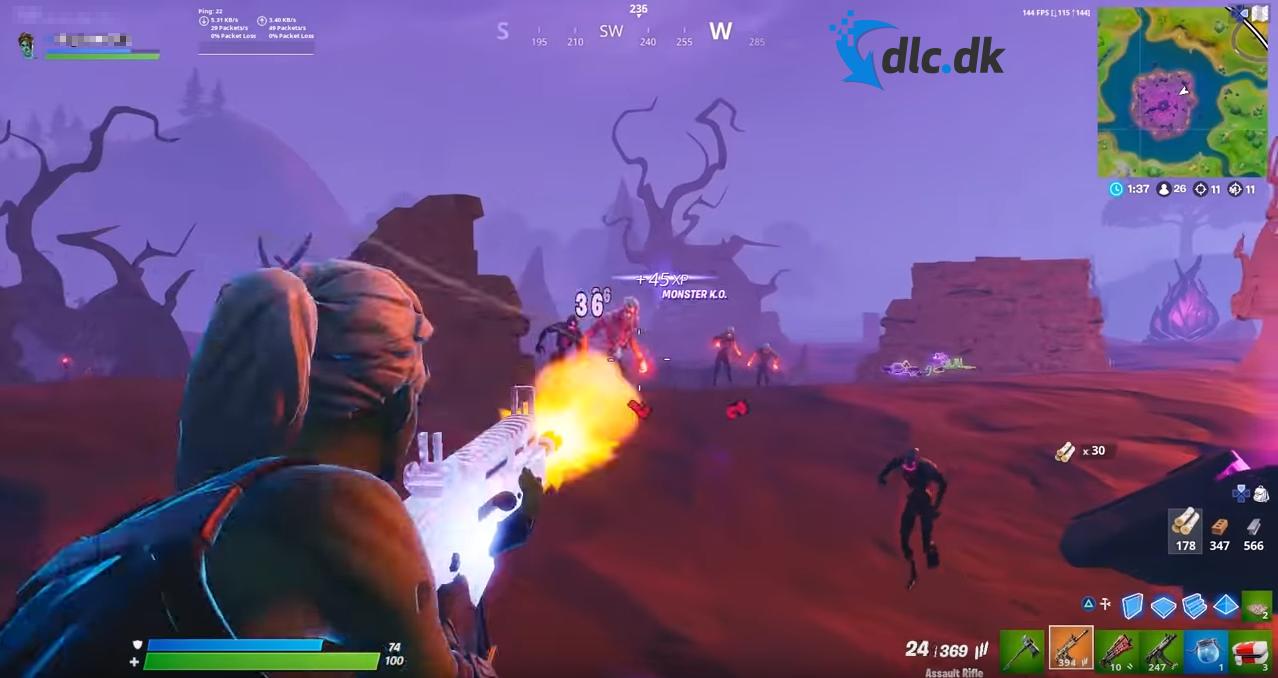 Screenshot af Fortnite