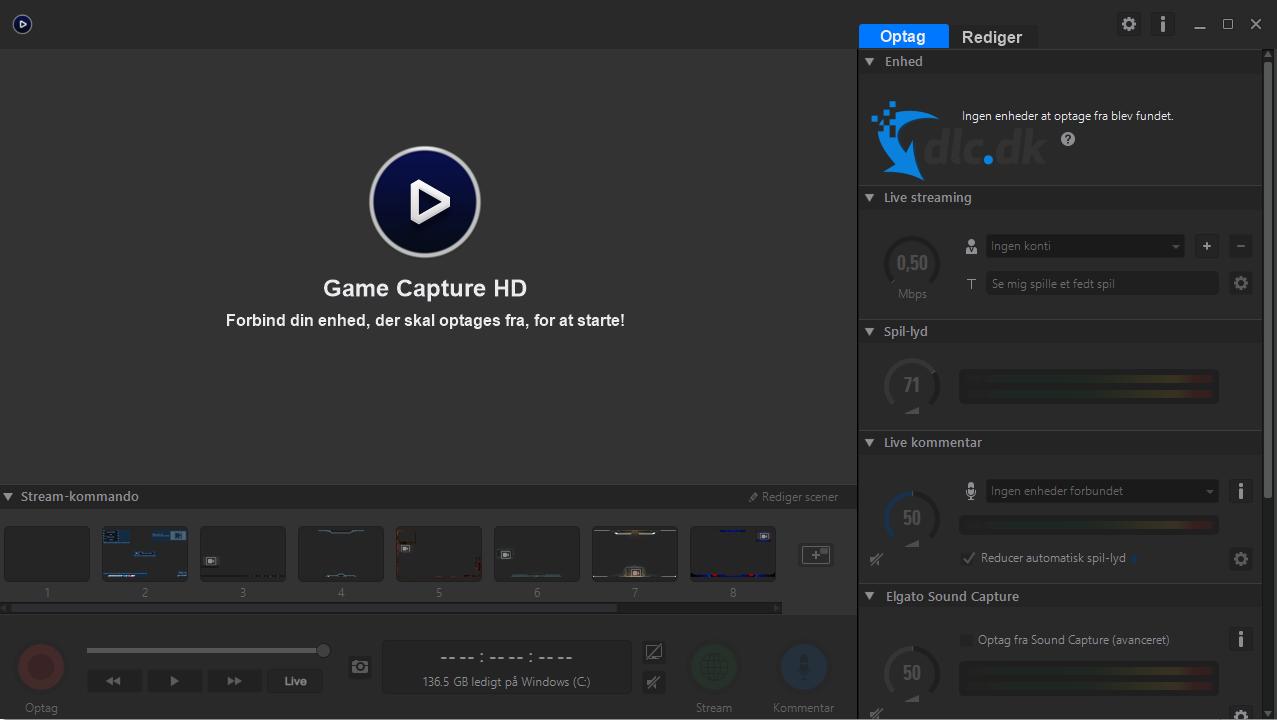 Screenshot af Game Capture