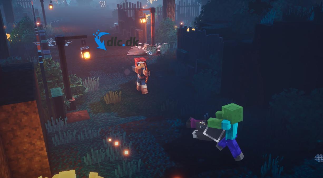 Screenshot af Minecraft Dungeons
