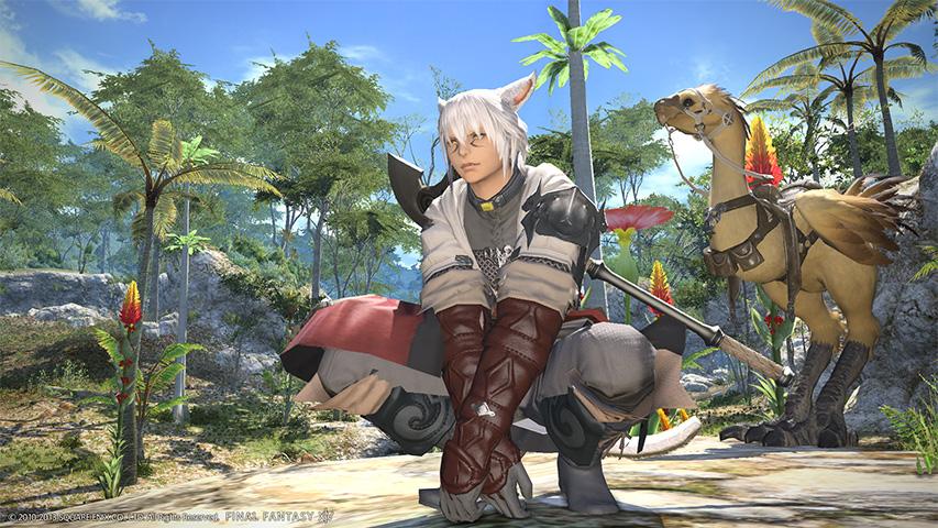 Screenshot af Final Fantasy XIV