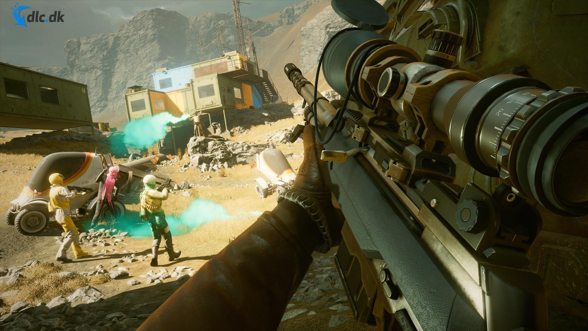 Screenshot af Deathloop