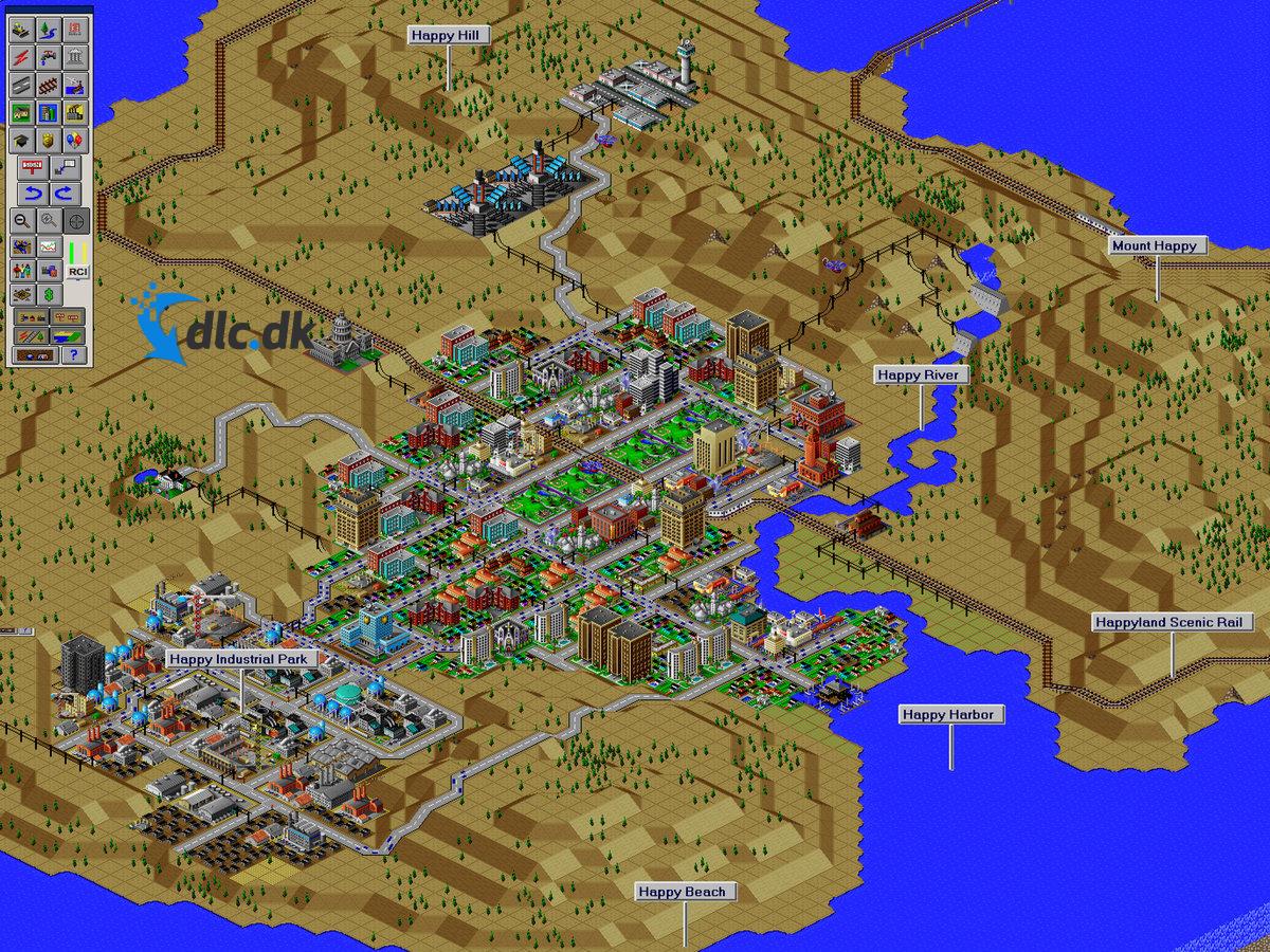 Screenshot af SimCity 2000