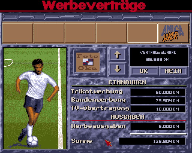 Screenshot von Bundesliga Manager Professional