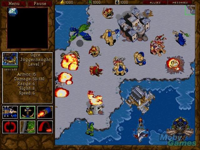 Screenshot af Warcraft 2: Tides of Darkness