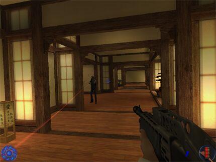 Screenshot af James Bond Nightfire