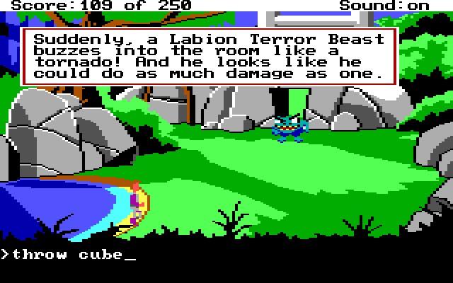 Screenshot af Space Quest 2 - Vohaul\'s Revenge