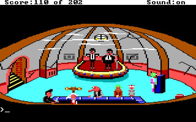 Screenshot af Space Quest - Roger Wilco in the Sarien Encounter