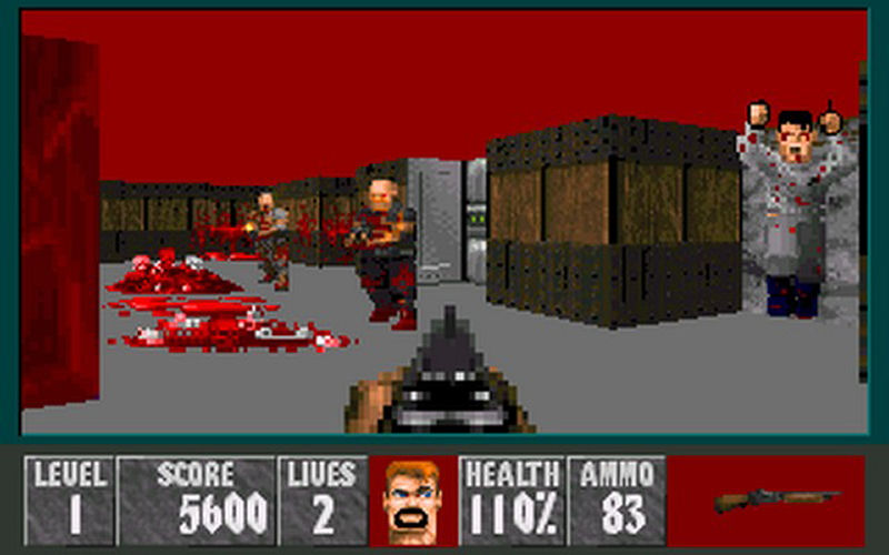 Screenshot af WolfenDoom 2 - The Depths of Hell