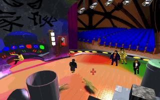 Screenshot af Bloodnet - A Cyberpunk Gothic