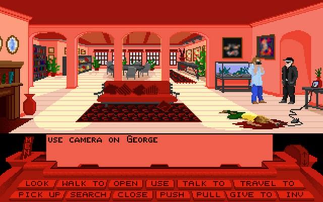 Screenshot af The Dark Half