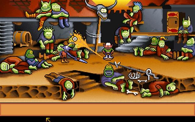 Screenshot af Gobliins 2 - The Prince Buffoon