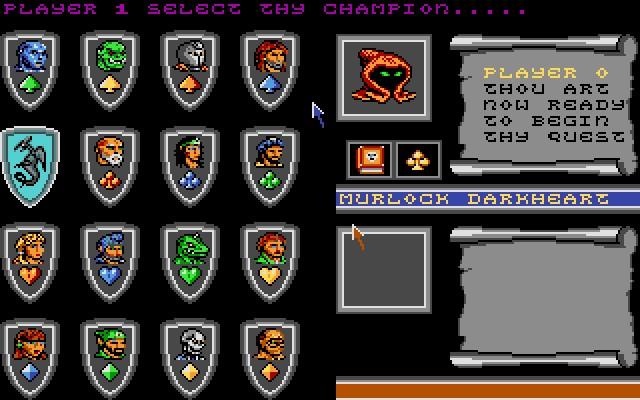 Screenshot af Bloodwych